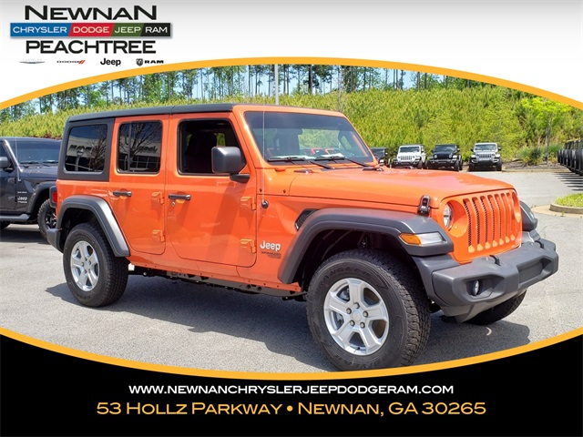 Jeep Wrangler Unlimited Sport >> New 2019 Jeep Wrangler Unlimited Sport S 4x4
