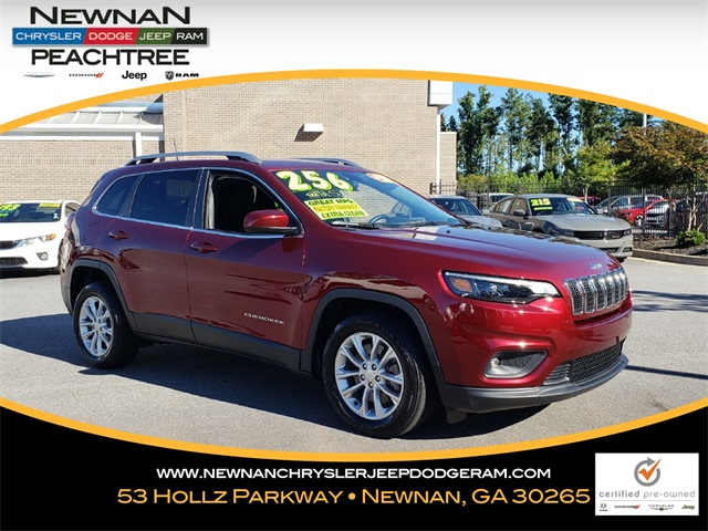 Certified Pre Owned 2019 Jeep Cherokee Latitude