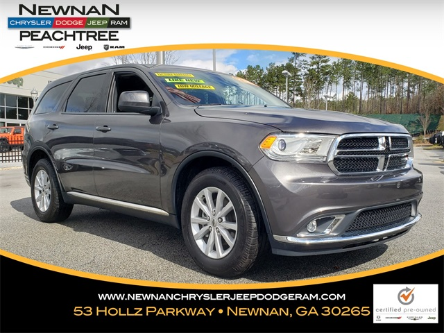 Certified Pre-Owned 2020 Dodge Durango SXT