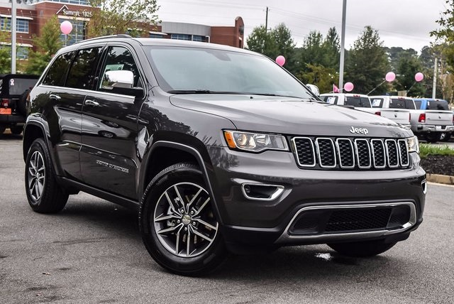 New 2018 Jeep Grand Cherokee Limited Sport Utility In