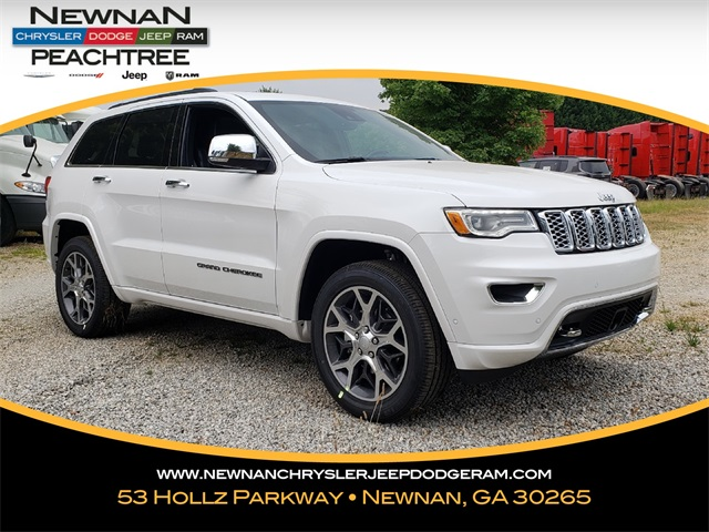 New 2019 Jeep Grand Cherokee Overland 4x2