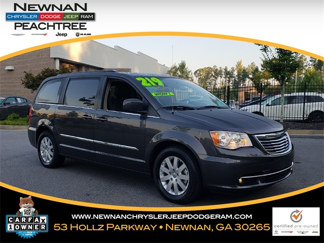 Certified Pre Owned 2015 Chrysler Town U0026 Country Touring