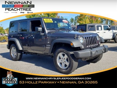 Certified Pre-Owned 2017 Jeep Wrangler